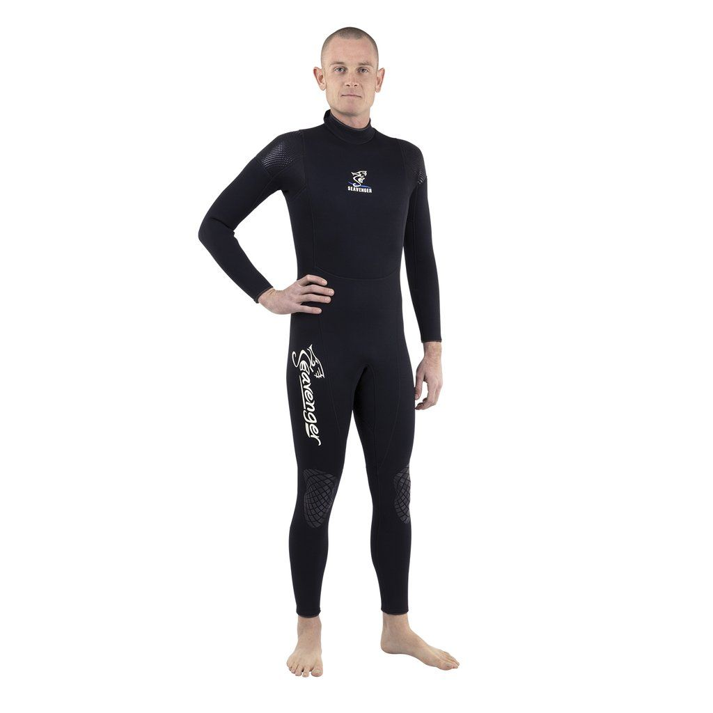 2be2002010 Seavenger Men s 3mm Neoprene Full Wetsuit with Super Stretch Panels