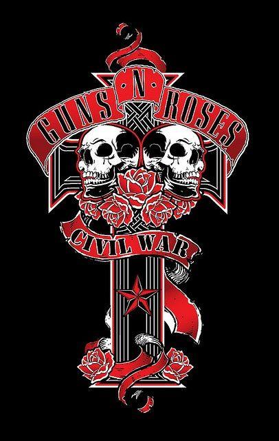 Guns N Roses Rock Poster Desenho Rock Imagens De Rock