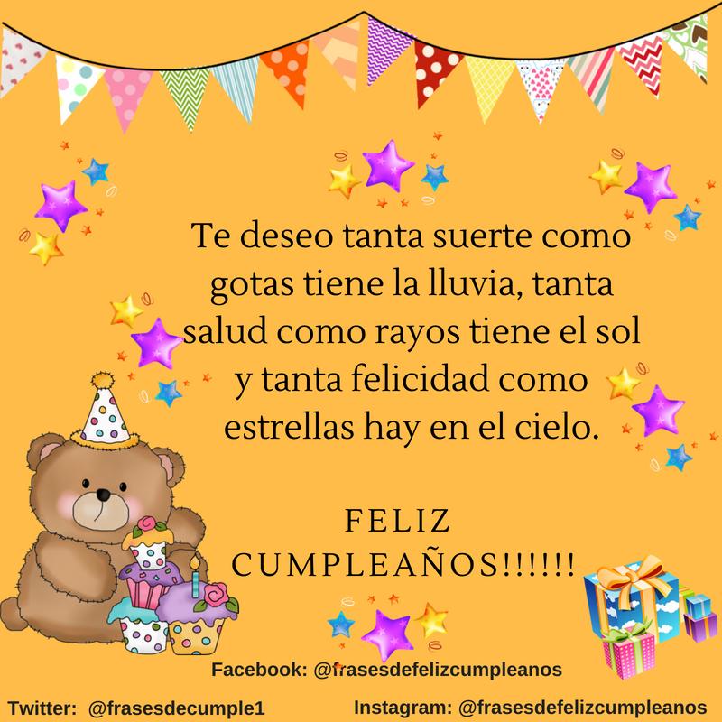 Mensaje De Feliz Cumpleaños Mensaje De Feliz Cumpleaños