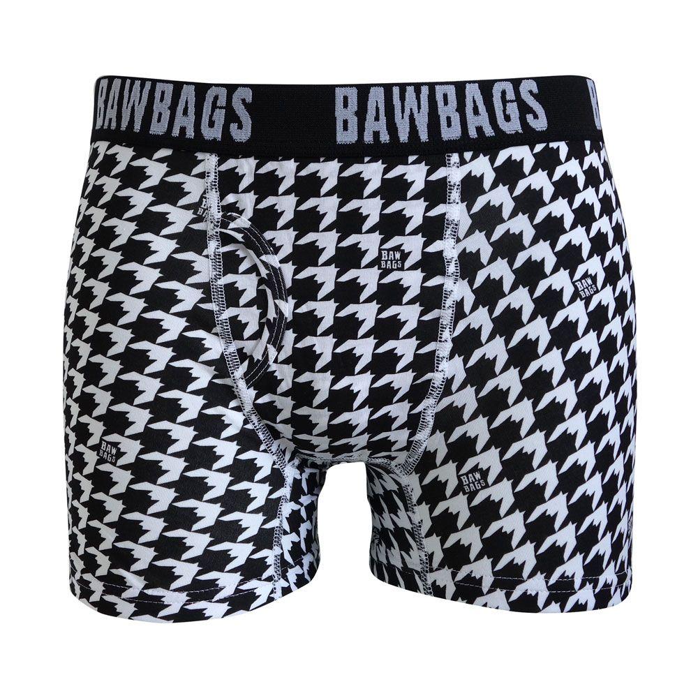 Bawbags Women/'s Houndstooth Underwear