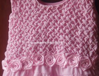 0a3e3806e5d7 Easy Crafts - Explore your creativity  Smocking on kids frock ...