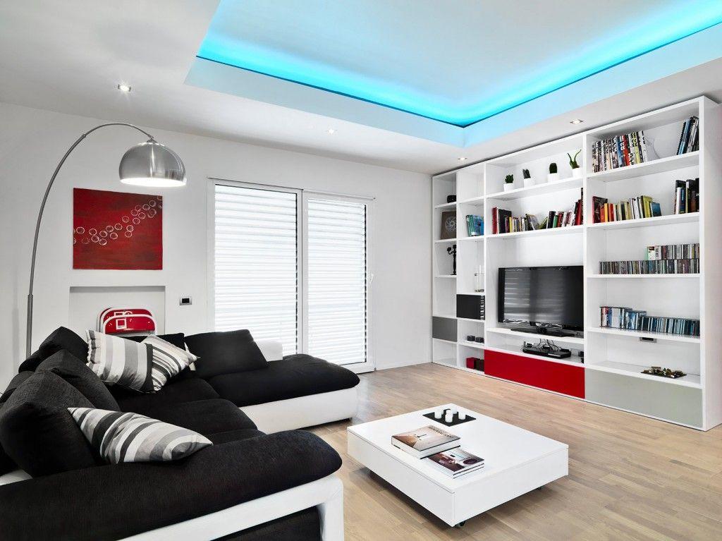 oltre 25 fantastiche idee su soggiorno rosso su pinterest ... - Arredare In Bianco E Nero