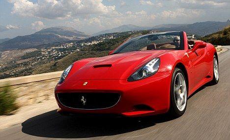 Ferrari California worth £152,086. | Convertible Cars | Pinterest