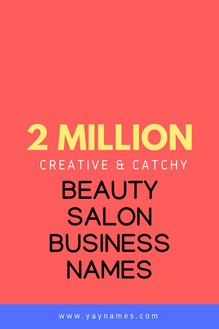Beauty Salon Names ZYO20 - AGBC