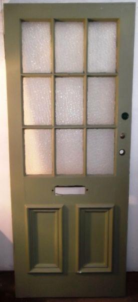 De0465 A Georgian Pine Glazed Front Door Stockcode De0465 Price