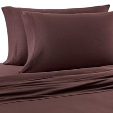 Bed Bath And Beyond Jersey Sheets Mesmerizing Pure Beech® Jersey Knit Twin Sheet Set In Brown  Bed Bath & Beyond Inspiration Design
