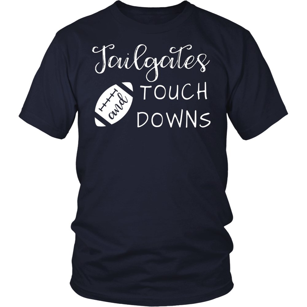 Tailgates And Touchdowns Party Football Tshirt