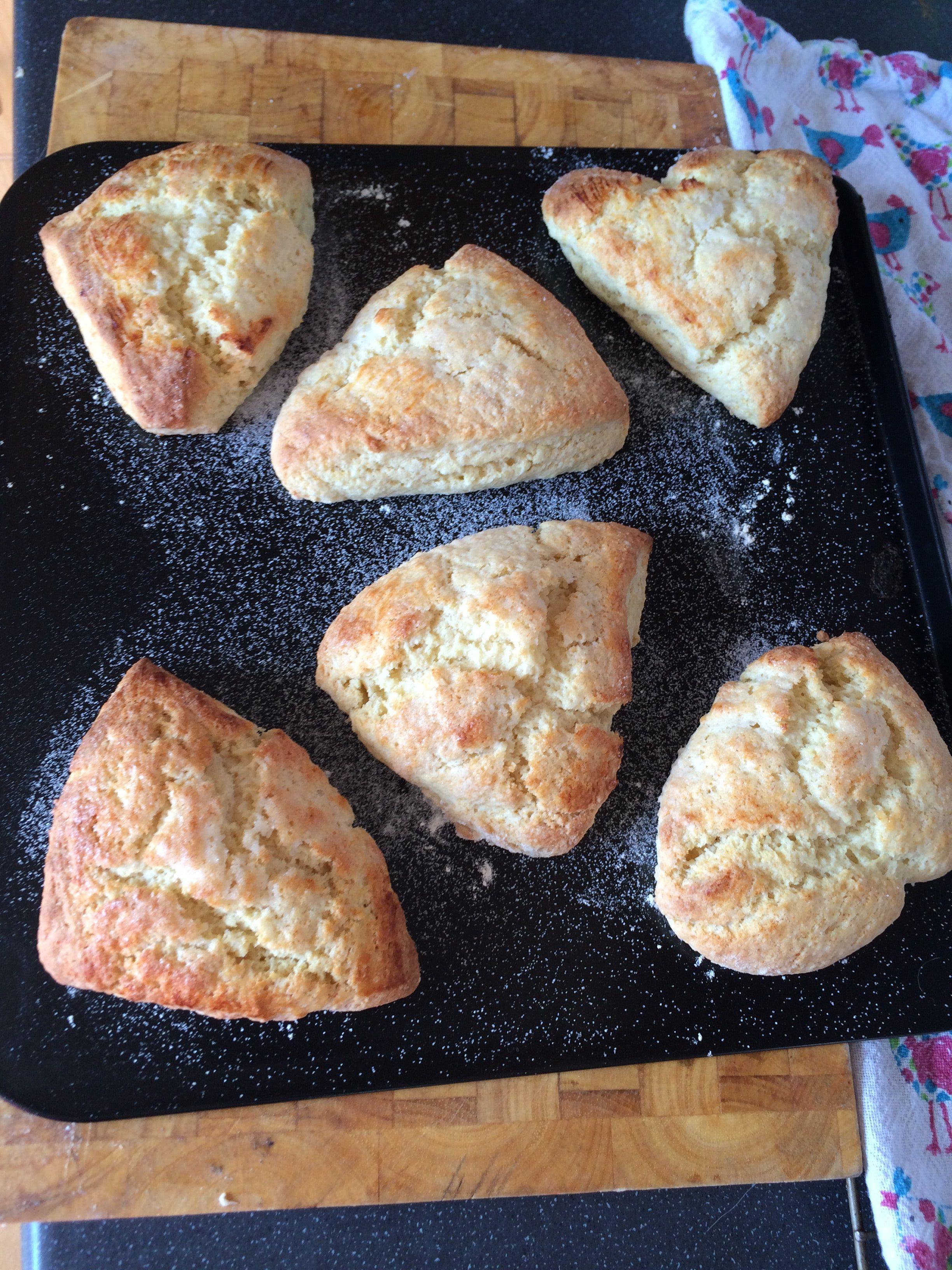 Traditional Buttermilk Scones Http Allrecipes Co Uk Scones Recipes Food