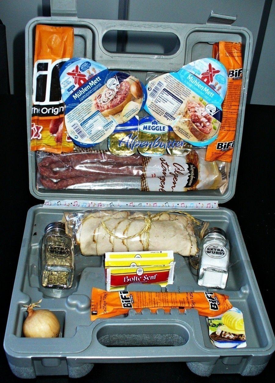 Männergeschenk: Wurstkoffer | Frag Mutti