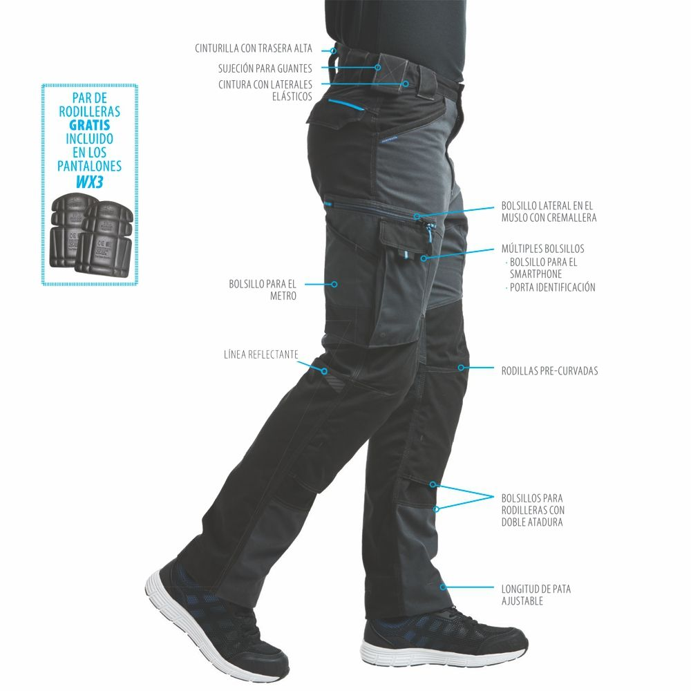 Pantalon De Trabajo Wx3 Pantalones De Trabajo Pantalones Ropa