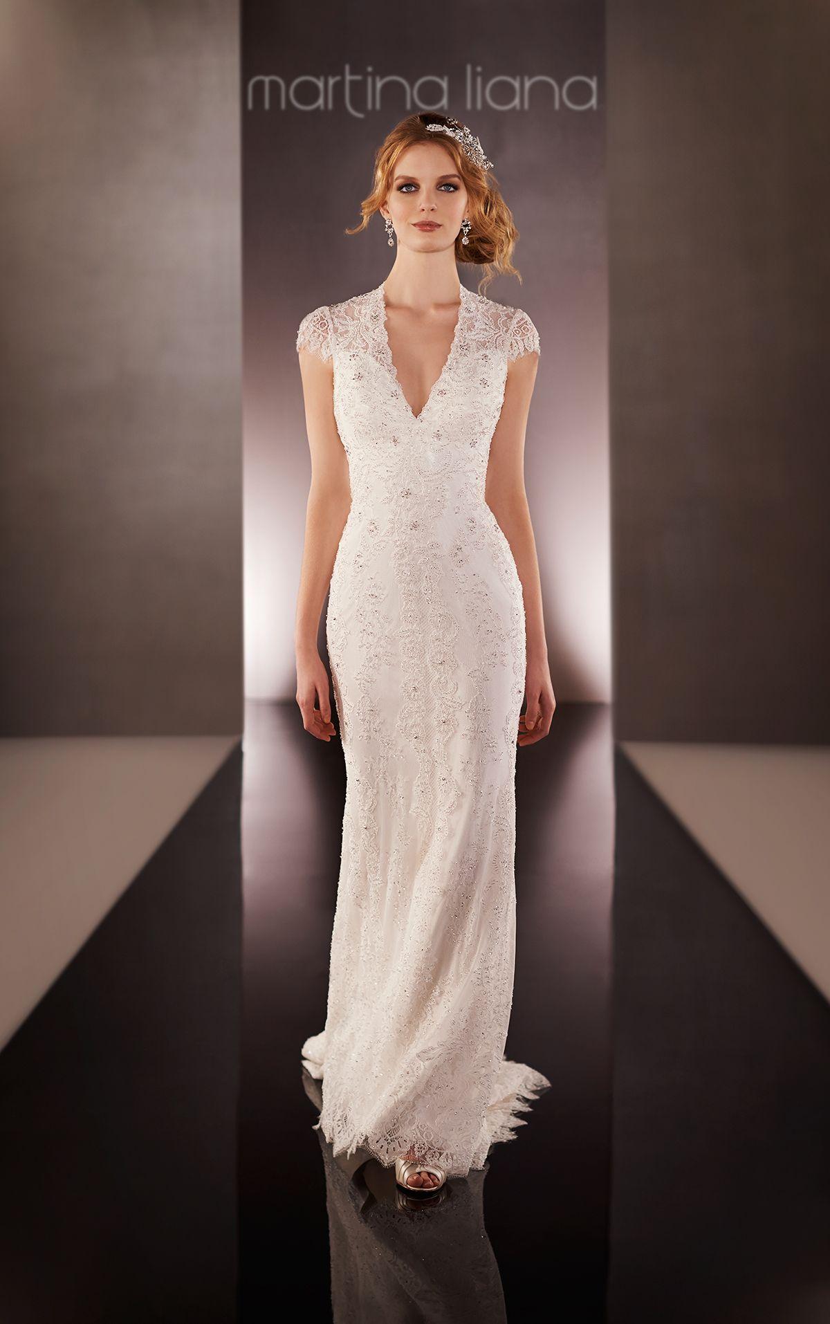 Vintage lace keyhole back bridal gown bridal gowns wedding dress