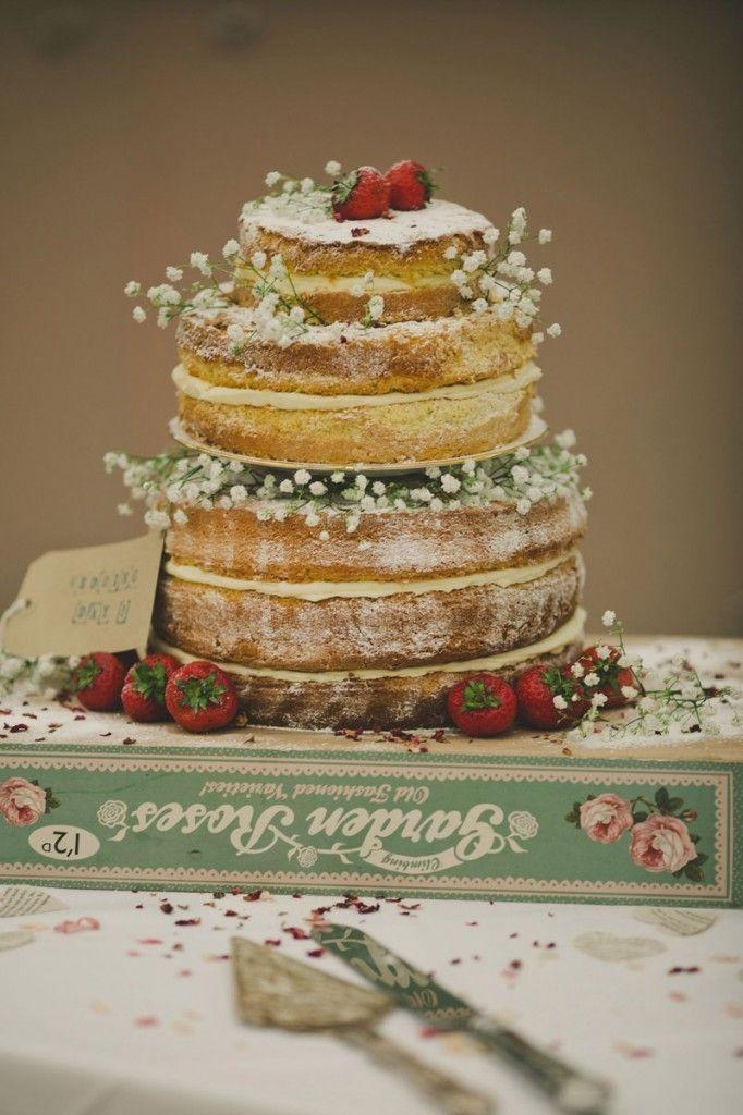 Real Claire Pettibone Bride Sallys Beautiful Naked Wedding Cake