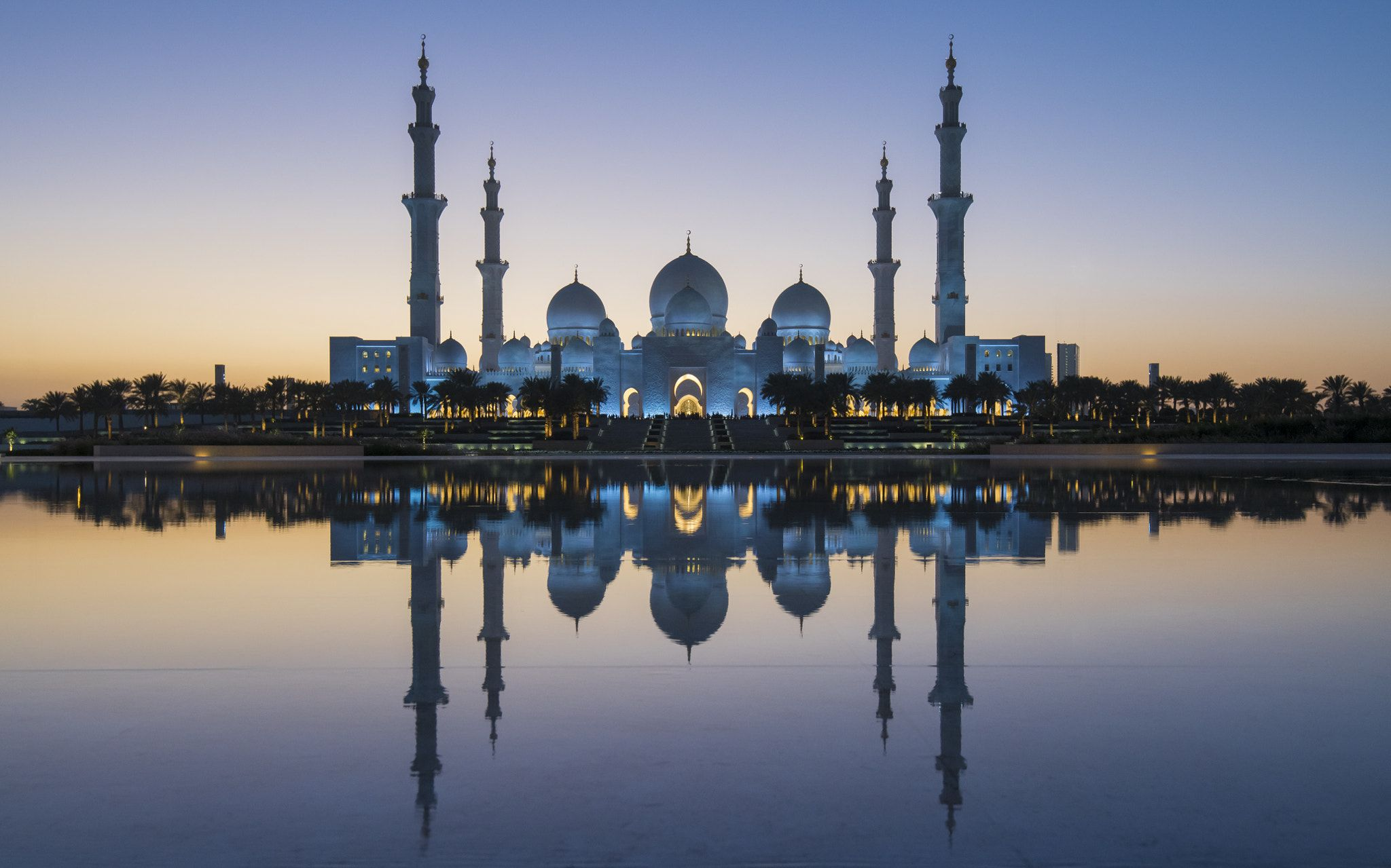 Grand Mosque Abudhabi - null