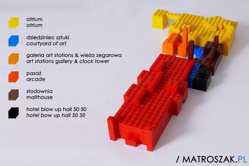 Stary Browar #Poznan - #LEGO Bricks, http://www.matroszak.pl/