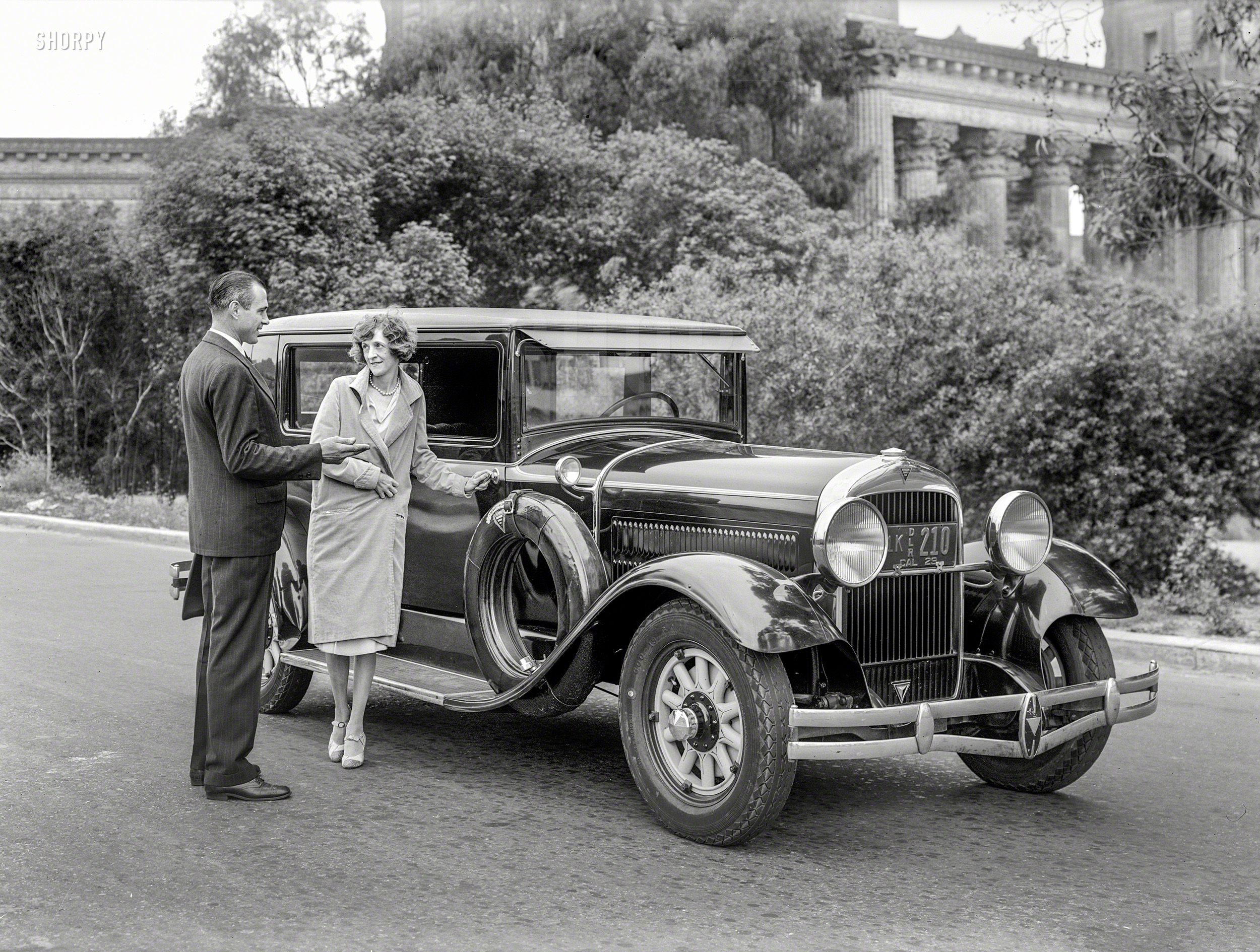 Shorpy Historic Picture Archive :: Six in the Park: 1929 Hudson high ...