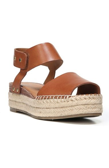 21eaadeb30c4 SARTO by Franco Sarto Oak Platform Wedge Espadrille (Women) available at   Nordstrom