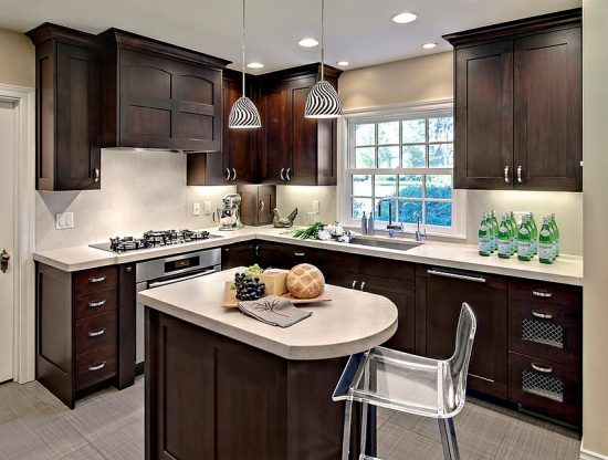 Creative Ideas For Small Kitchen Design Kitchen Pinterest Inspiration Small L Shaped Kitchen Design Creative