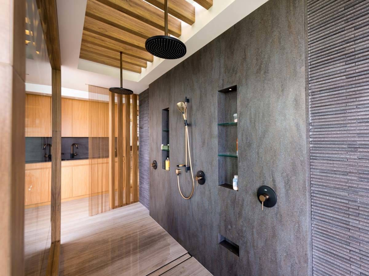 The Floor Level Shower Area Offers Real Shower Pleasure Explore Avantgarde Shower Desig Toilet And Bathroom Design Basement Bathroom Universal Design Bathroom
