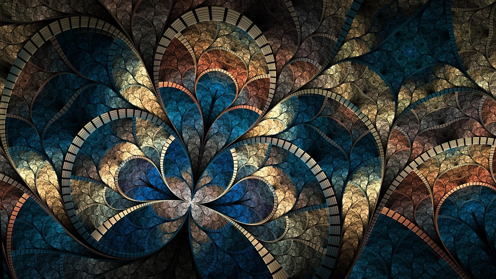 HD Fractal Wallpapers Abstract art images, Abstract art
