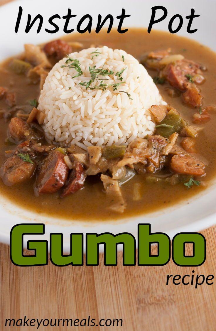 Instant Pot Gumbo #instantpotrecipeseasy