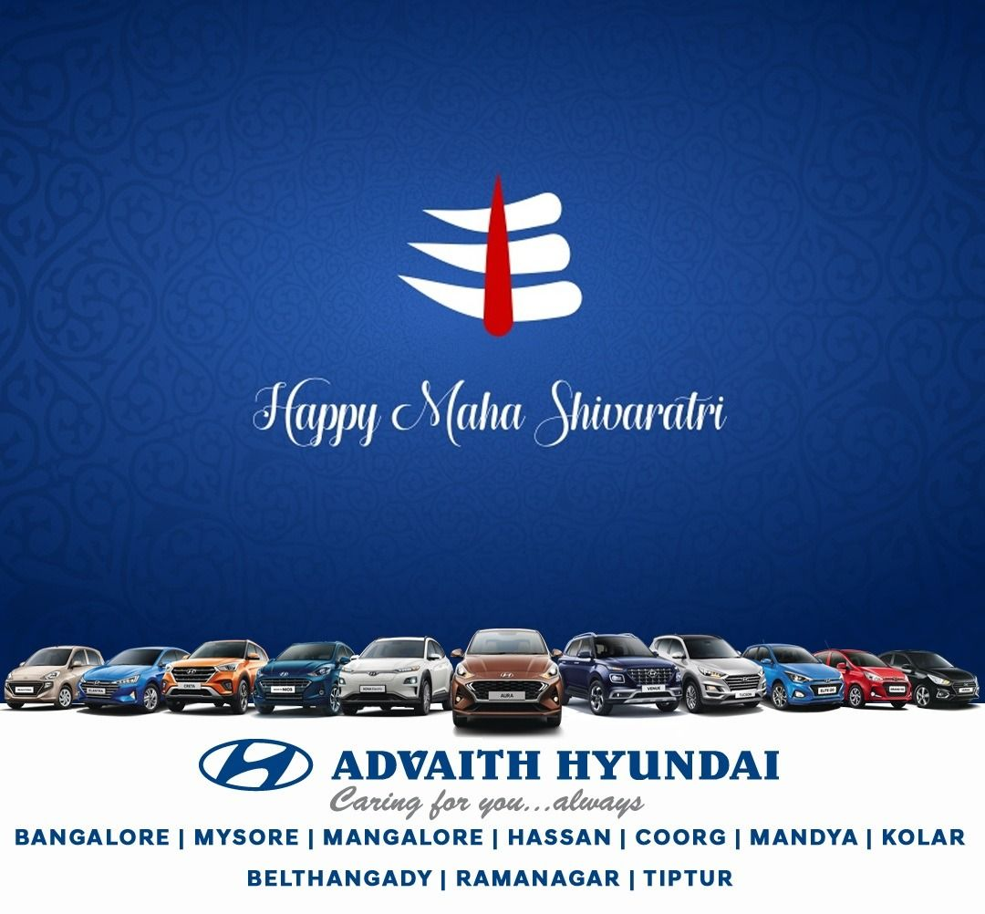 Advaith Hyundai Wishes You Your Family Happy Maha Shivaratri In