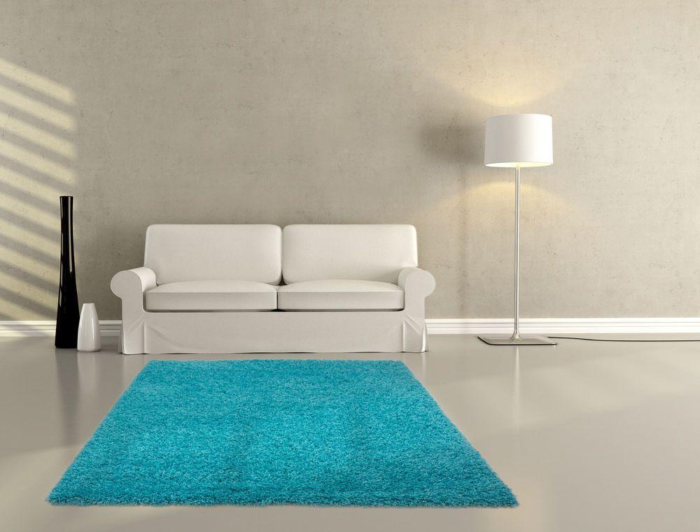 Teppich fußbodenteppich modern design salsa 310 aqua 160cmx230cm