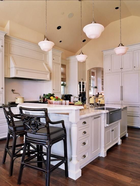 Functional kitchen island for small spaces kitchen and - Functional kitchen island designs ...