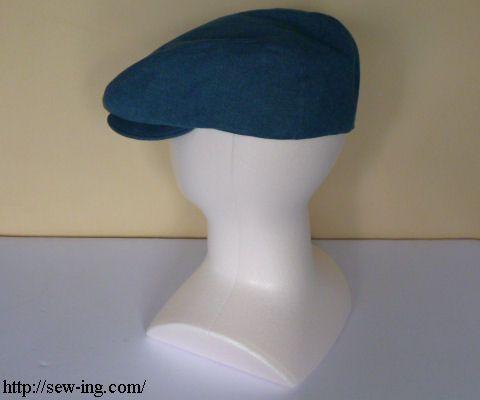 Flat Cap Tutorial Free Hat Pattern Ponchos Mützen Pinterest