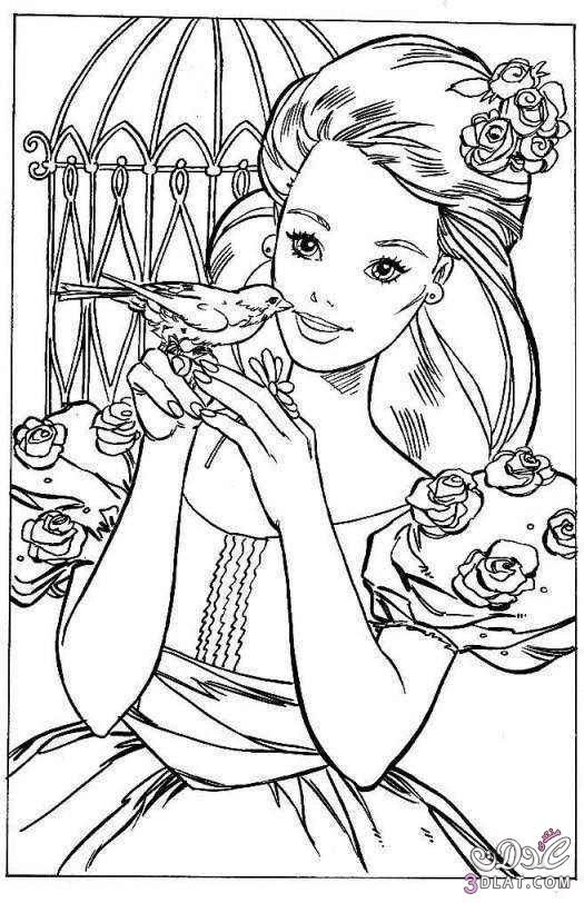 صور باربى جميلة صور باربى للتلوين صور باربي للتلوين روعة Animal Coloring Pages Barbie Coloring Barbie Coloring Pages