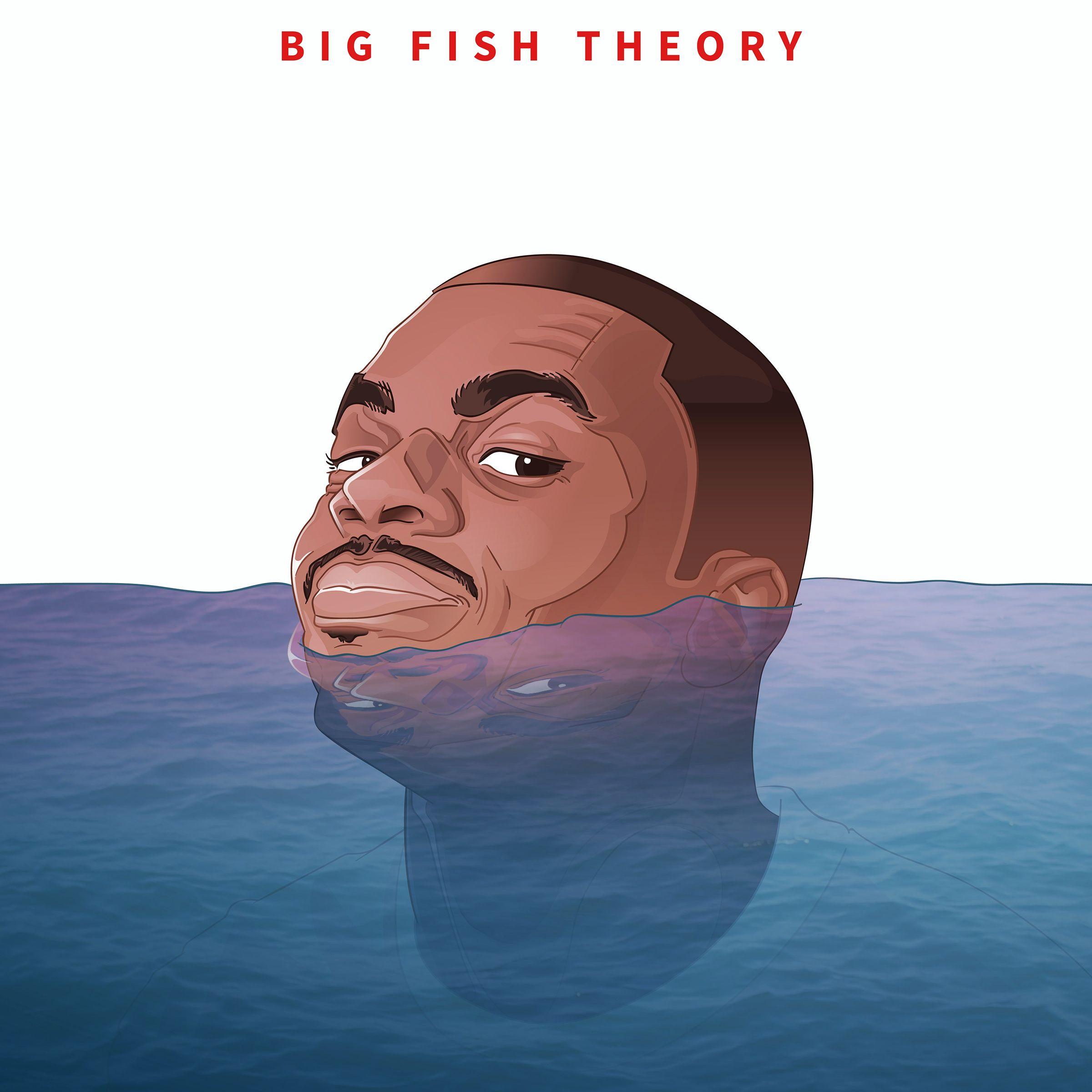 Bekijk Mijn Behance Project Vince Staples Big Fish Theory Process Https Www Behance Net Gallery 53073703 Vince Vince Staples Rap Background Big Fish