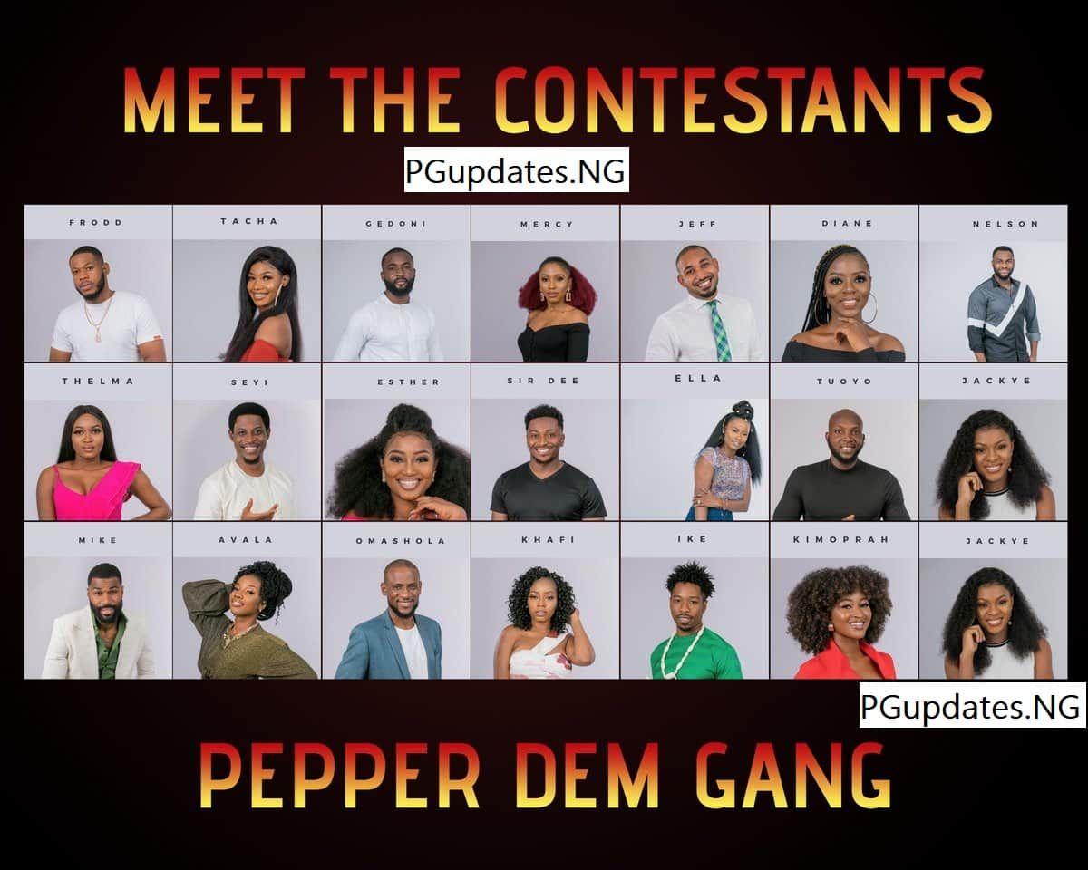 Bbnaija 2019 List Of Housemate For Big Brother Naija Reality Show Ex Boyfriend Humor Boyfriend Humor Reality Show