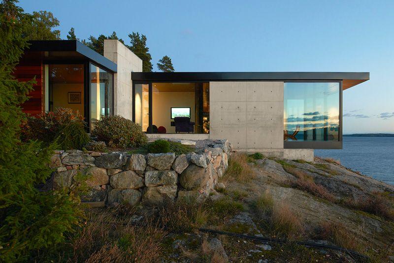 The Rock House near Stockholm /  Arkitektstudio Widejdal Racki