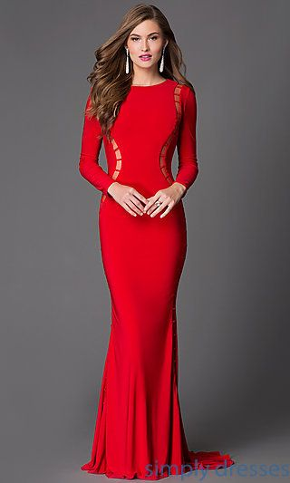 8b2bcf1d3b Alluring Cut Out Open Back Formal Gown by Xtreme