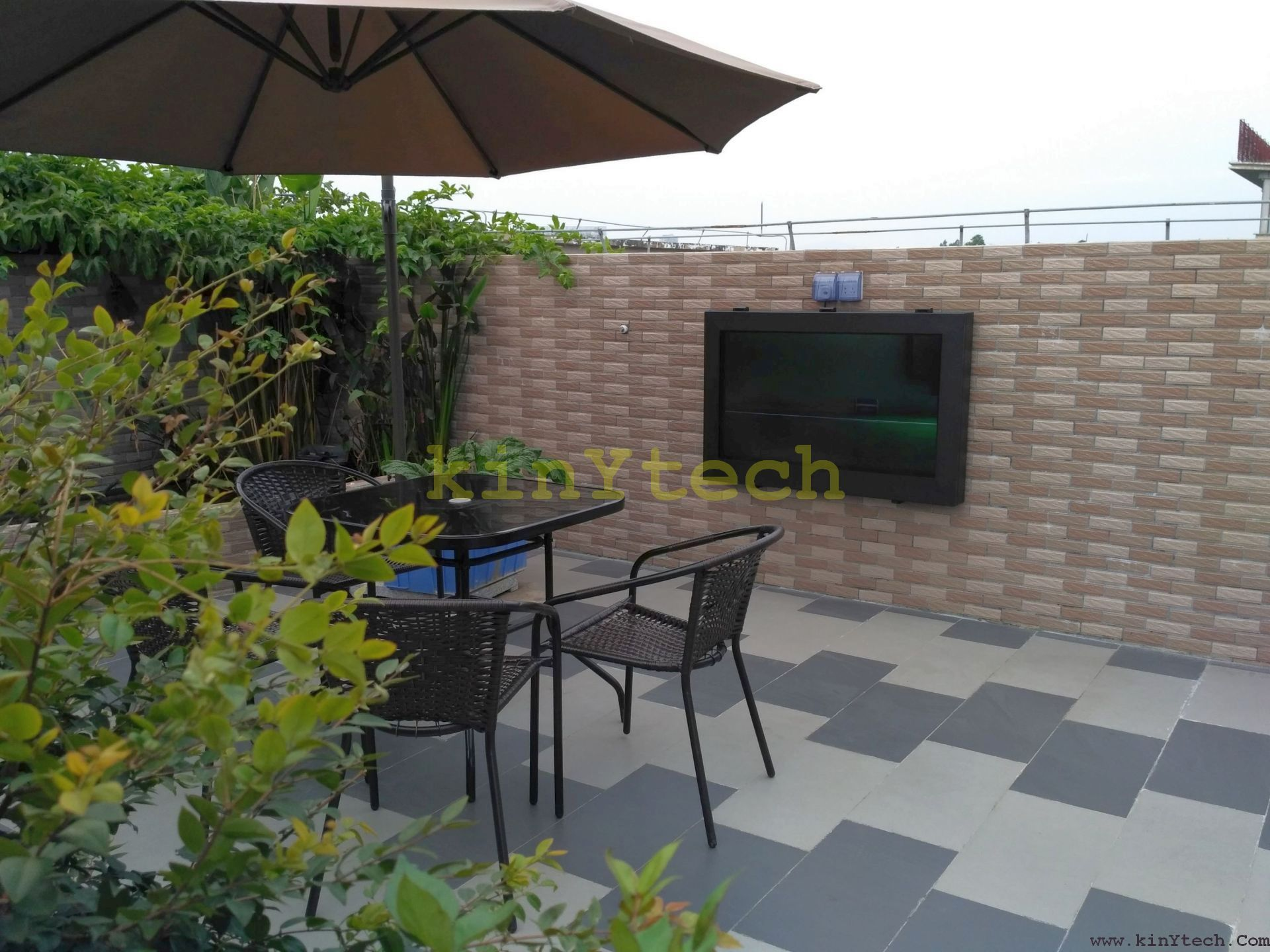 weatherproof TV enclosure From Kinytech China