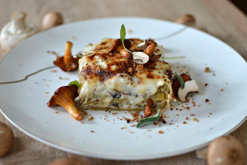 Lasagnes aux champignons : la version automnale, gourmande et végétarienne