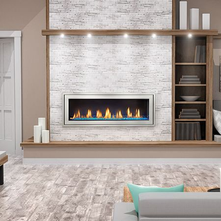 Napoleon Lv50n Vector 50 Direct Vent Gas Fireplace Linear Fireplace Gas Fireplace Vented Gas Fireplace