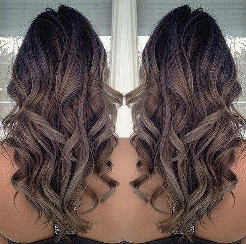 Gray Ombre Hair Color Trend For Dark S Worth Following 2016 Summer
