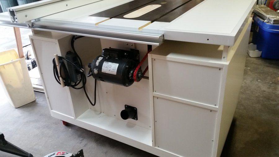 Image Result For Craftsman Table Saw Cabinet