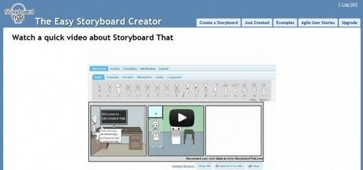 Storyboard That, crea historietas con personajes y escenas a partir de plantillas