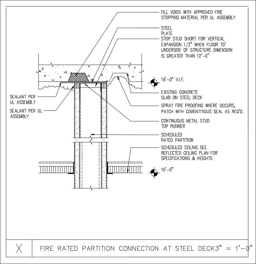 Free Cad Details Fr Partition Connection Amp Deck Cad