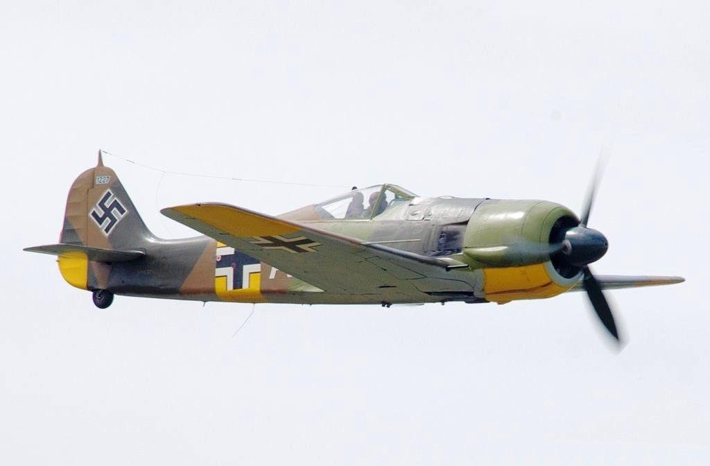 Focke-Wulf Fw-190A-5 N19027