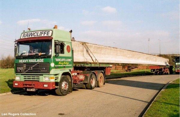 Len Rogers Volvo F12 Rawcliffe Jpg 95 9 Kib Viewed 981 Times Trucks Volvo Trucks Classic Trucks
