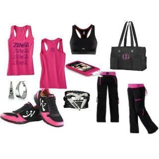 Tenue de Fitness pour pratiquer la Zumba aux Cercles de la Forme #zumba #fitness