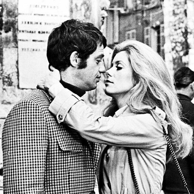 Jean Paul Belmondo & Catherine Deneuve