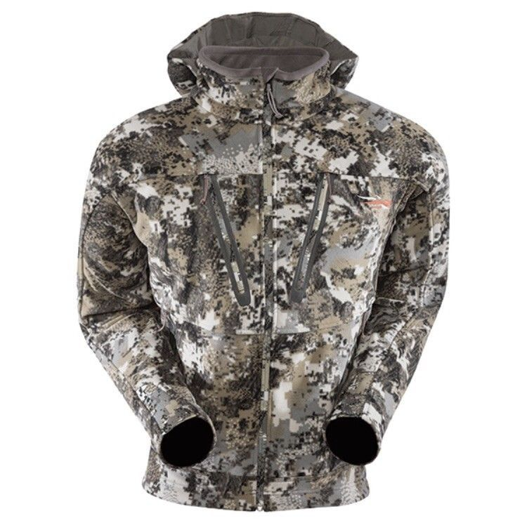 New Sitka Gear Stratus Jacket Whitetail Optifade Elevated Ii Camo Large M Sitka Gear Hunting Clothes Windproof Jacket