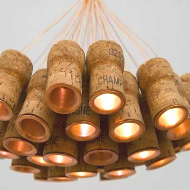 Incase you drink a lot... collect the corks and be creative.