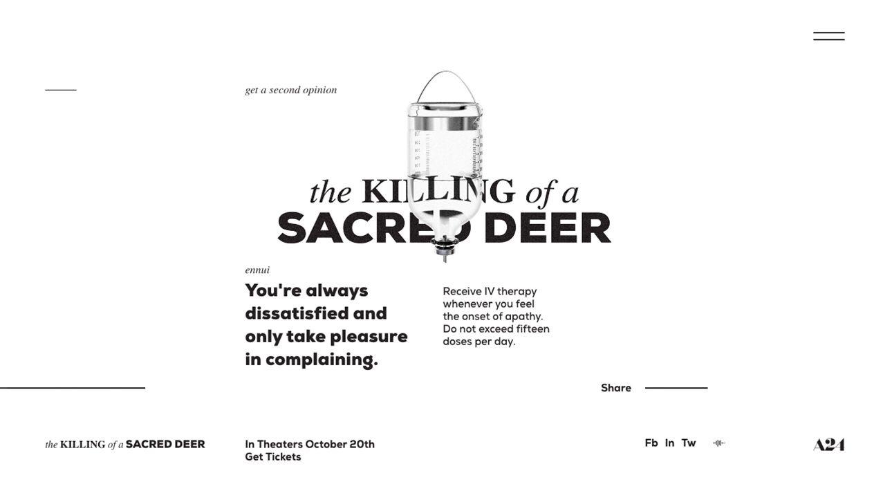 medium resolution of the killing of a sacred deer body diagram deer mule deer red deer