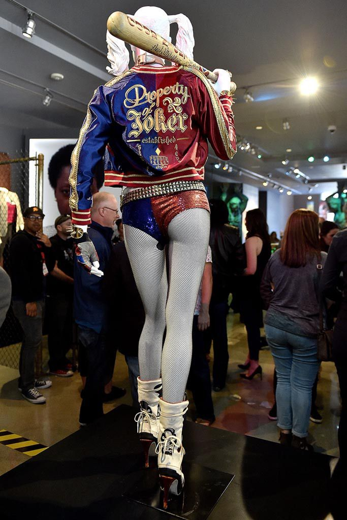 febfd12d3b1798 Margot Robbie s Jeremy Scott x Adidas Heeled Boots Unveiled At  DC ...