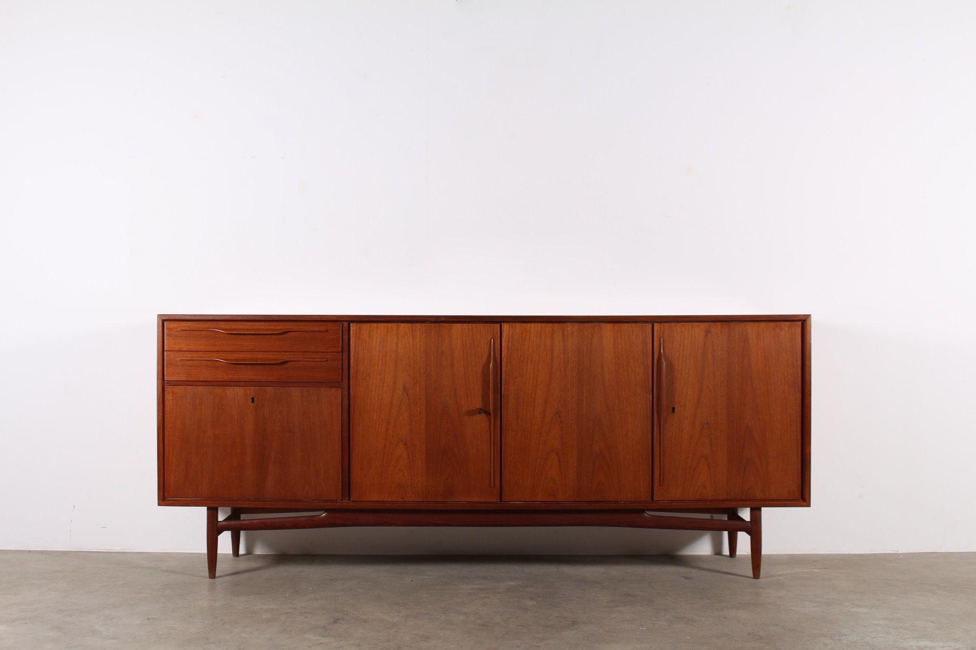 Sideboard Buffet Enfilade Meuble Vintage Design Scandinave Danemark Li Ge
