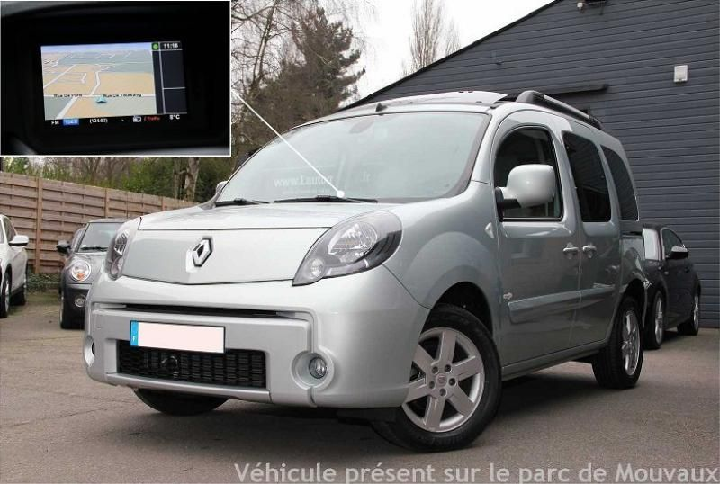 renault kangoo ii 1 5 dci 85 tomtom edition 2011 occasions. Black Bedroom Furniture Sets. Home Design Ideas